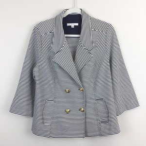 CAbi Striped Blazer L